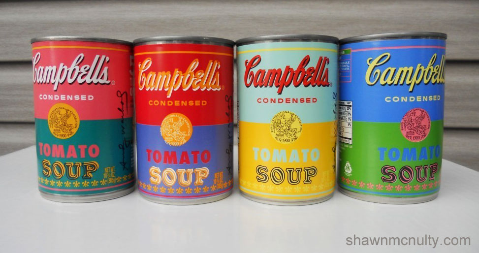 campbell soup cans andy warhol limited edition